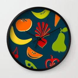 Enjoy your food! Wall Clock