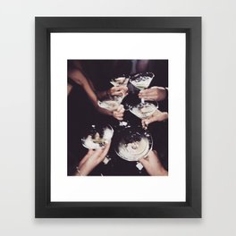 Shaken not Stirred Framed Art Print