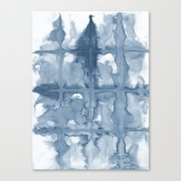 indigo Canvas Prints featuring Indigo by Dream Of Forest