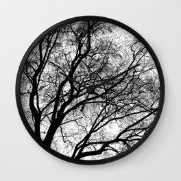 Tree Silhouette Series 1 Wall Clock