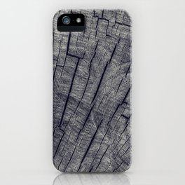 Vintage Wood Texture iPhone Case