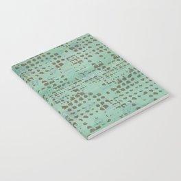 Moss Print Notebook