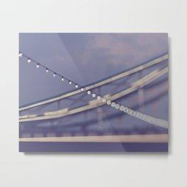TOWER BRIDGE ABSTRACT Metal Print