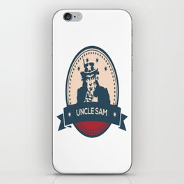 Uncle Sam Wants His Money Back iPhone Skin