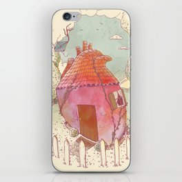 Home Is Where Your Heart Is iPhone Skin