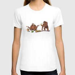 Orange Man (Wordless) T-shirt