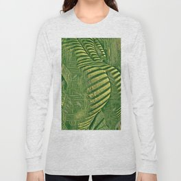 6799s-NLJ Naked Motherboard Booty Fine Art Nude Feminine Long Sleeve T-shirt