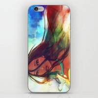 heart iPhone & iPod Skins featuring The Wind... by Alice X. Zhang