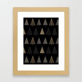 MODERN CHRISTMAS TREES 2 Framed Art Print