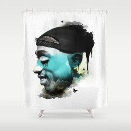 Young Bishop Shower Curtain