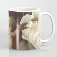 religious Mugs featuring Singularity by Dave E. Phillips