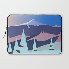 Mount Hood Wintersun Laptop Sleeve