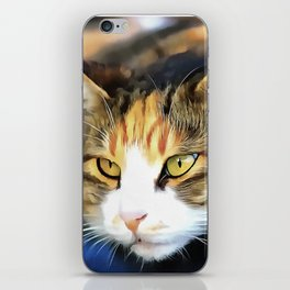 Contented Cat iPhone Skin
