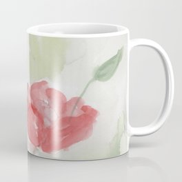 Watercolor Poppies Coffee Mug