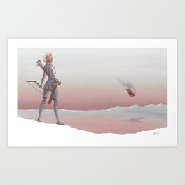 Travels Art Print