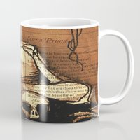 denmark Mugs featuring Hamlet Prince of Denmark by Immortal Longings