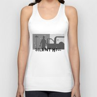 silent hill Tank Tops featuring Silent Hill by Chandler Payne