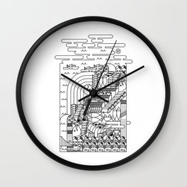 TSUKIJI FISH MARKET TOKYO Wall Clock