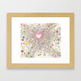 Love Intoxication Framed Art Print