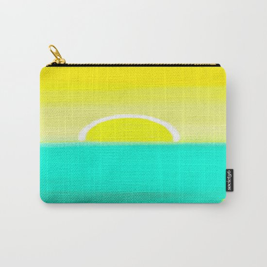 Birthday Yellow Carry-All Pouch