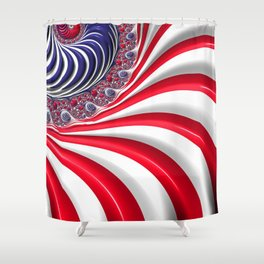 Oh, Long May it Wave! Shower Curtain