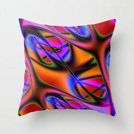 Capillary Throw Pillow