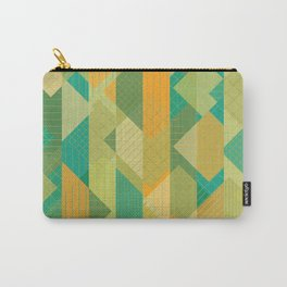 Grids, Lines, Squares Carry-All Pouch