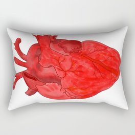 Passion red heart Rectangular Pillow
