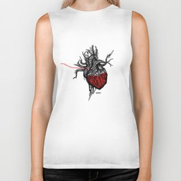 Wired Heart Biker Tank