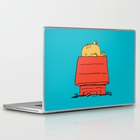 snoopy Laptop & iPad Skins featuring Snoopy Time! by penguinline