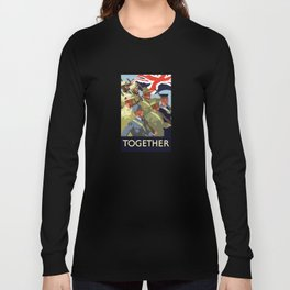 Together -- British Empire WW2 Long Sleeve T-shirt