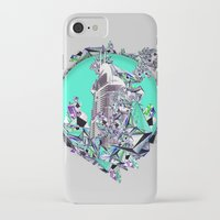 cityscape iPhone & iPod Cases featuring Cityscape by infloence
