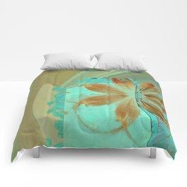Exposure Reality Flowers  ID:16165-043834-44191 Comforters