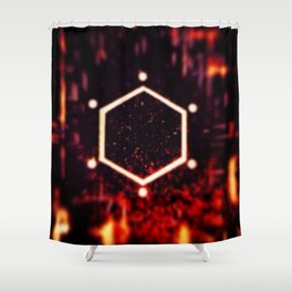 Excited Neurons Shower Curtain
