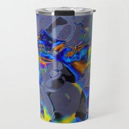 Oil Glitch Travel Mug