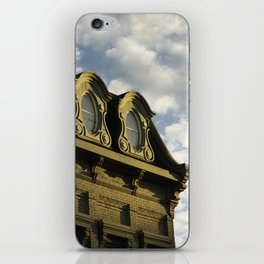 Ornate architecture of Millbrook downtown buildings iPhone Skin