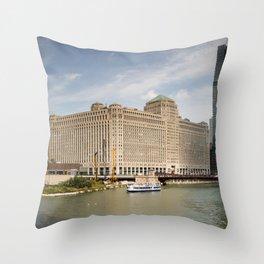 Chicago Cityscape Photos Throw Pillow