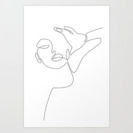 Fine Selfie Art Print