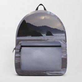Foggy Beach (colour) Backpack