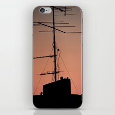 Antenna in its natural habitat iPhone & iPod Skin