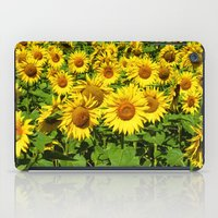 sunflowers iPad Cases featuring Sunflowers. by Assiyam