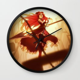 Madoka Magica: Kyoko Wall Clock