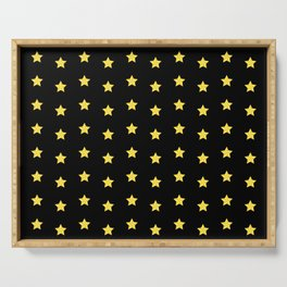 The Stars Pattern Serving Tray