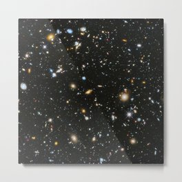 Galaxies: Hubble Space Telescope Ultra Deep Field 2 Metal Print
