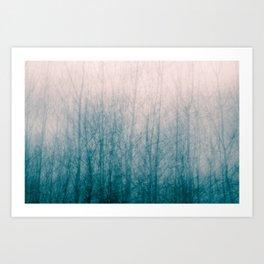 Winter Primary 01 Art Print