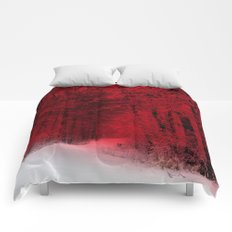 Red Forest Comforters