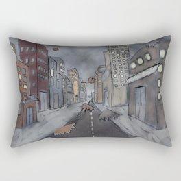 Destruction of a Dream Rectangular Pillow