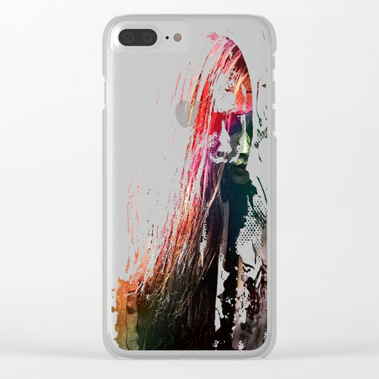 Walking Away From The Lights Of Never Clear iPhone Case