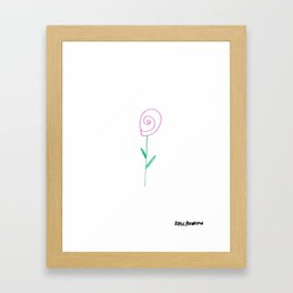 Flower 8 Framed Art Print
