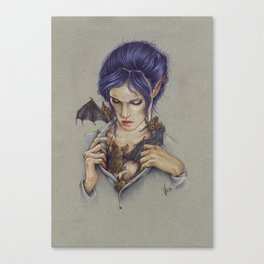 My creatures Canvas Print
